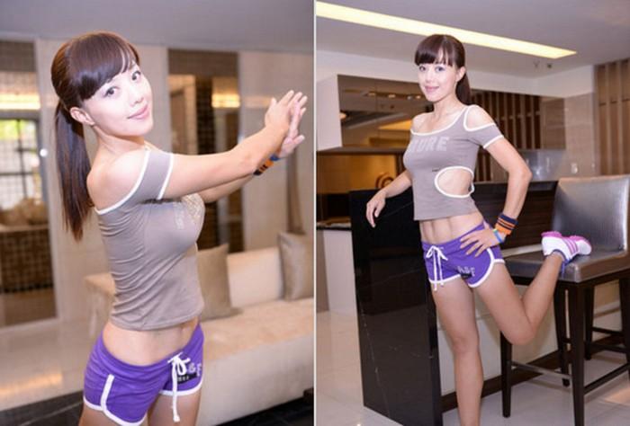 Zhang Tingxuan: секрет долгой молодости – спорт. И хороший BB-крем
