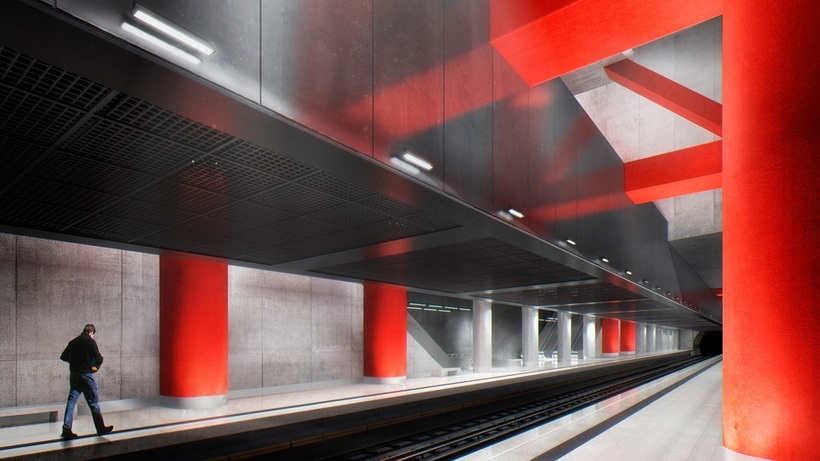Еще три станции Большой кольцевой линии московского метро построят до конца года