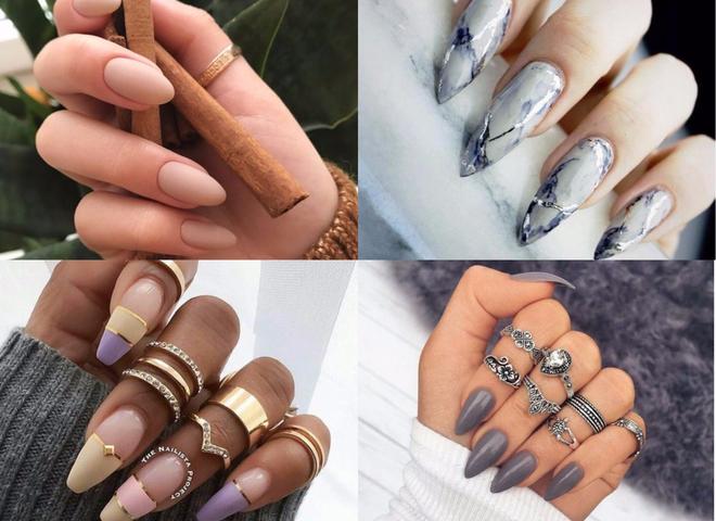 Модные формы ногтей 2019: форма, дизайн, тренды, фото
