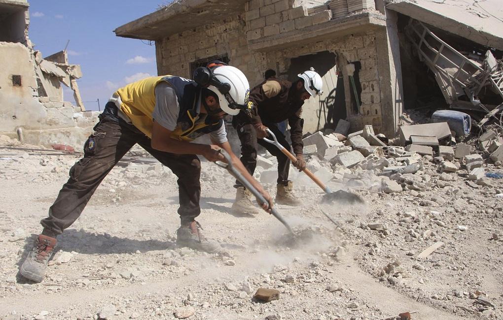 """Госдеп: РФ и Сирия ведут кампанию дезинформации против """"Белых касок"""""""