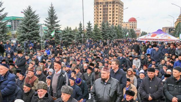 В Ингушетии не утихают протесты из-за договора о разделе земель с Чечней