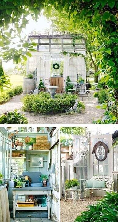 Садовое вдохновение поделки для сада,разное