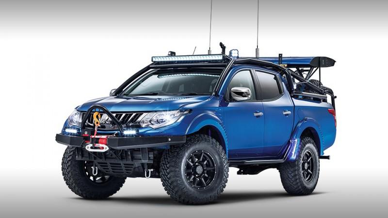 Top Gear вместе с Mitsubishi создали экстремальный внедорожник