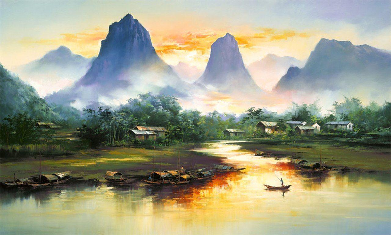 Китайский художник-самоучка, названный лучшим неоимпрессионистом конца XX века