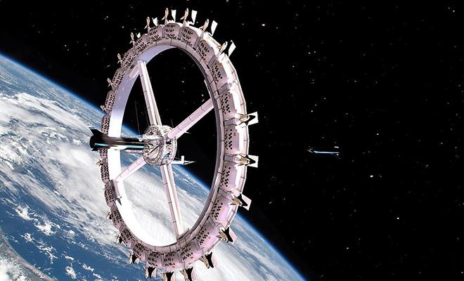 Как будет устроен первый отель на орбите Земли. Создатели показали проект Культура