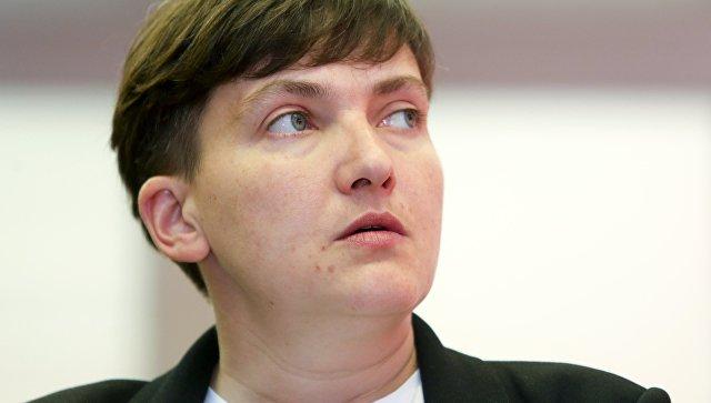 В Раде заявили, что Савченко…