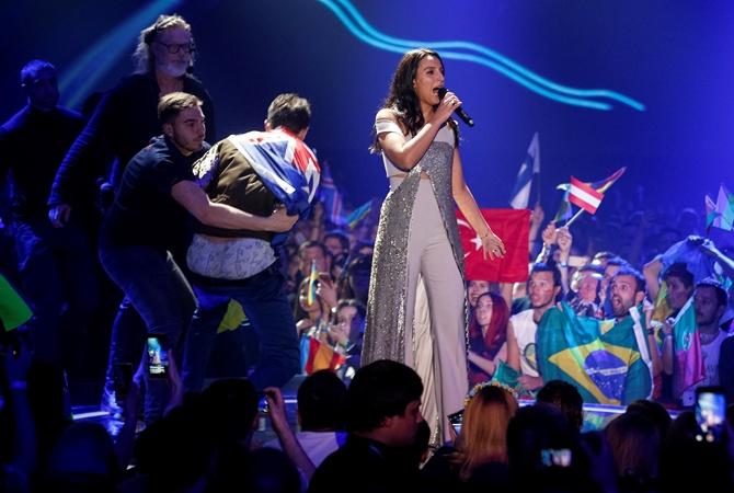 Евровидение-2017: зритель, снявший штаны перед Джамалой, оказался украинцем