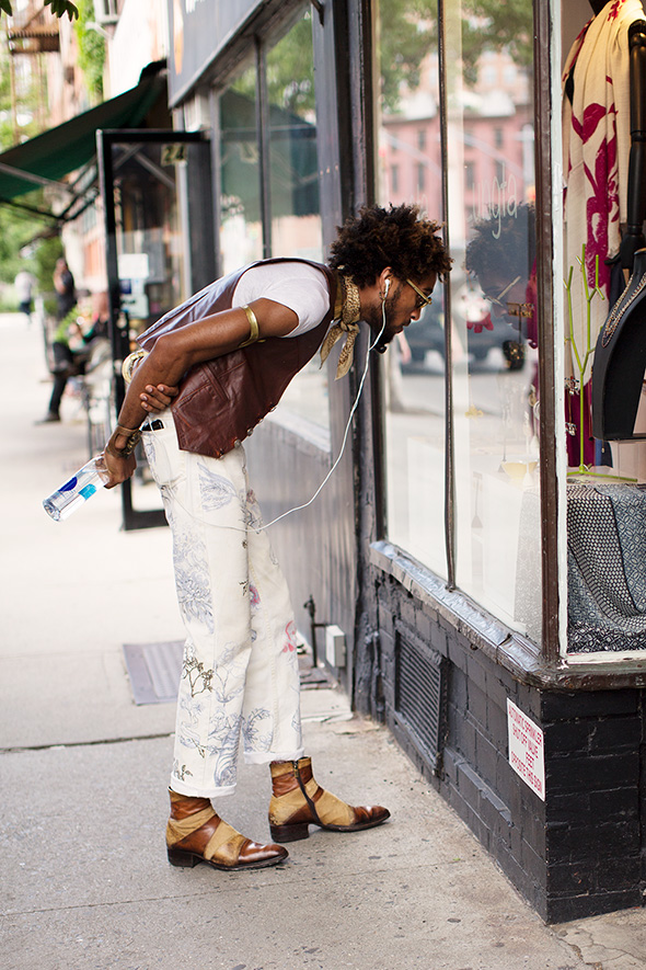 On the Street…Hudson St., New York