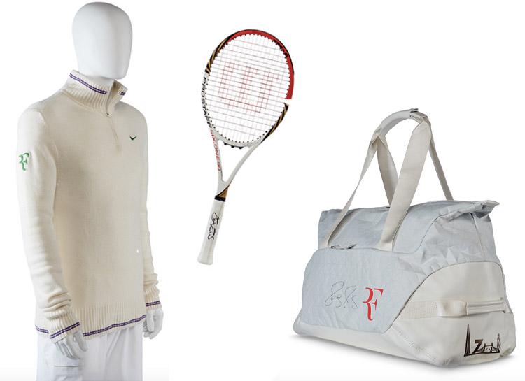 Щедрый жест: Роджер Федерер продаст личные вещи на благотворительном аукционе Стиль жизни,Благотворительность