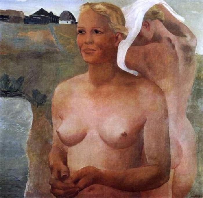 «Ню» по-советски: Сколько просят сегодня за соцреализм Александра Дейнеки на мировом арт-рынке живопись