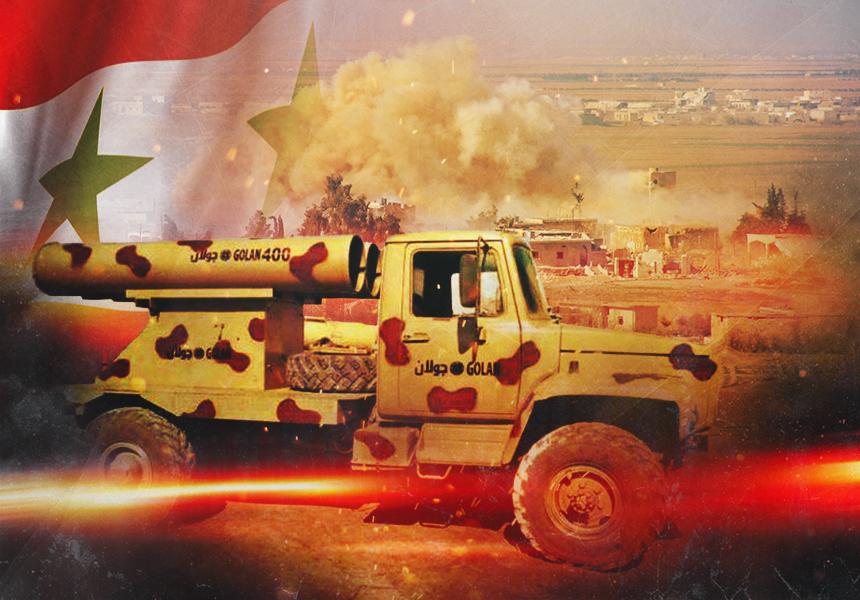 Сирия продемонстрировала первый ответ на израильскую агрессию