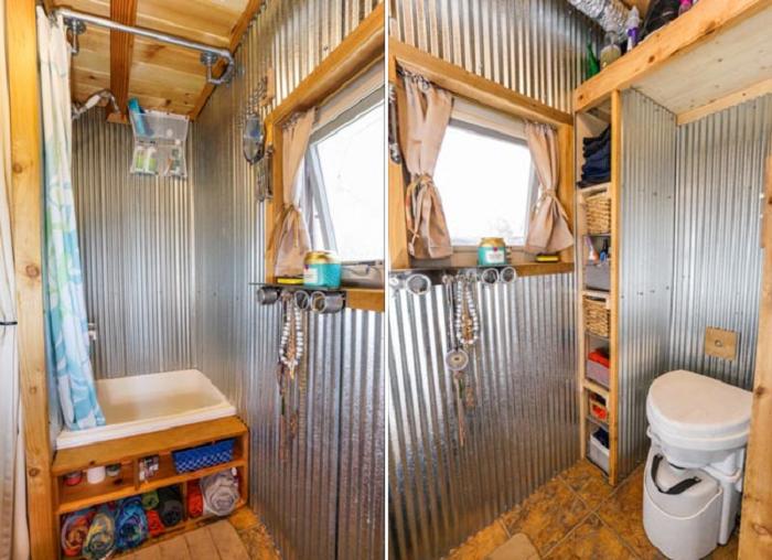 Девушка, которая давно живет в крошечном доме, поделилась впечатлениями и опытом архитектура,идеи для дома,интерьер и дизайн,ремонт и строительство