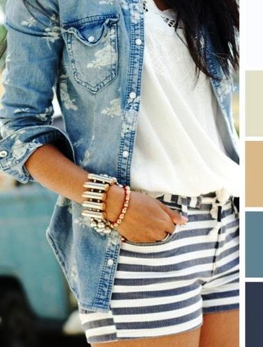 Крутая шпаргалка!15 идеальных цветовых сочетаний в одежде