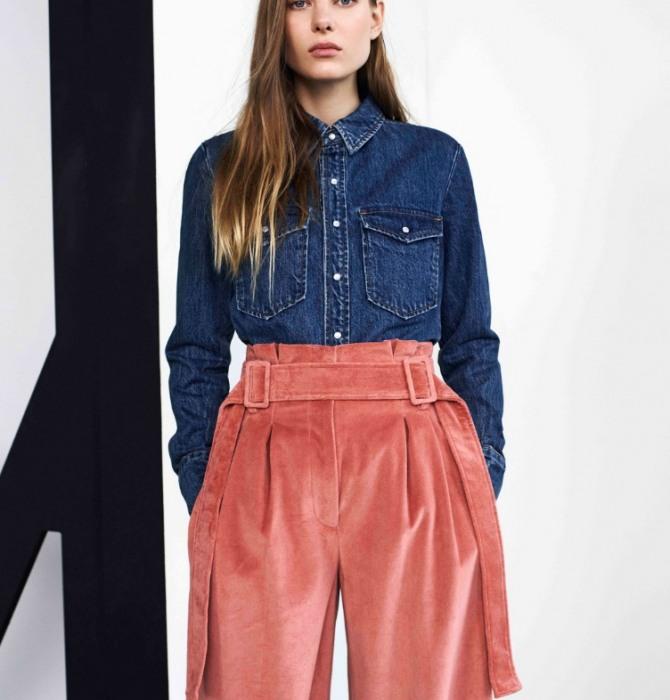 джинсовый батник