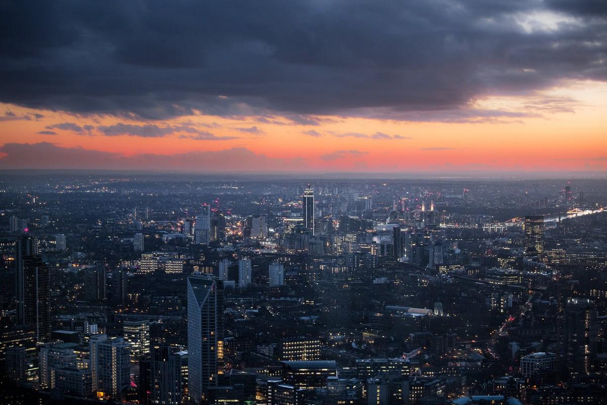 Лондон на снимках Натана Хандса