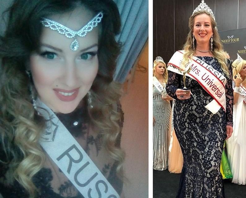 Ростовчанка похудела на 50 кг и выиграла конкурс «Mrs Universal» в Турции