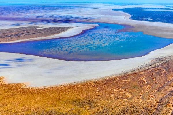 Озеро Эйр, Австралия