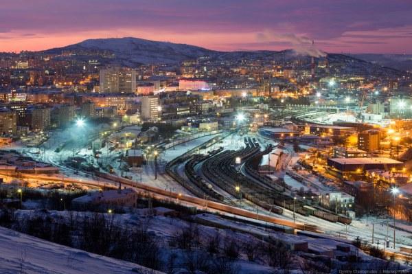Мурманск - город за Северным…