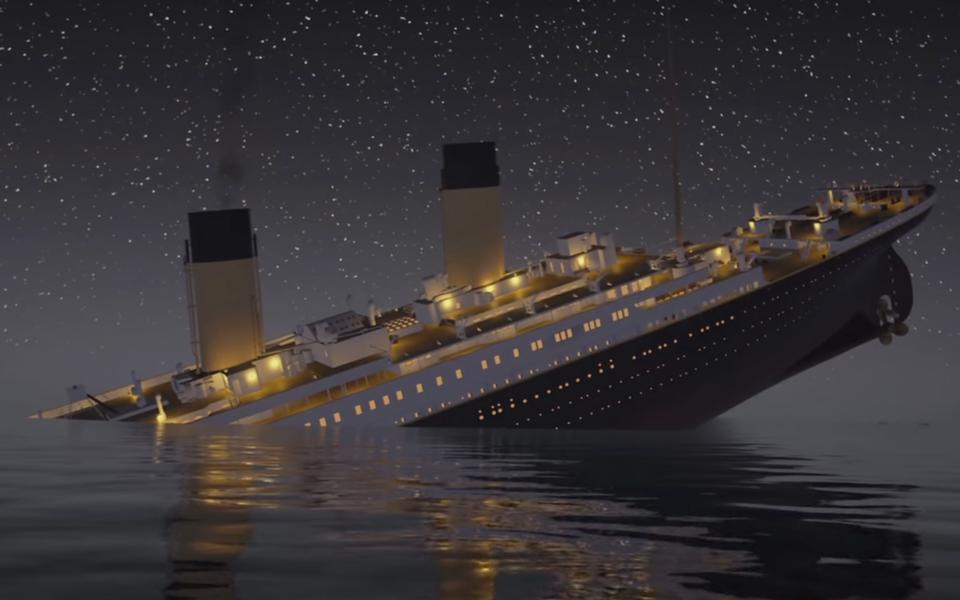 В 2022 году по старому маршруту проплывет точная копия Титаника