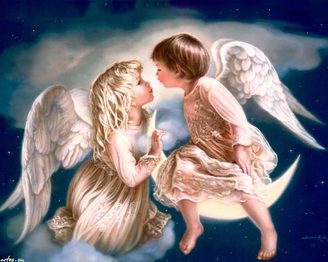 Картинки с ангелом красивые, день