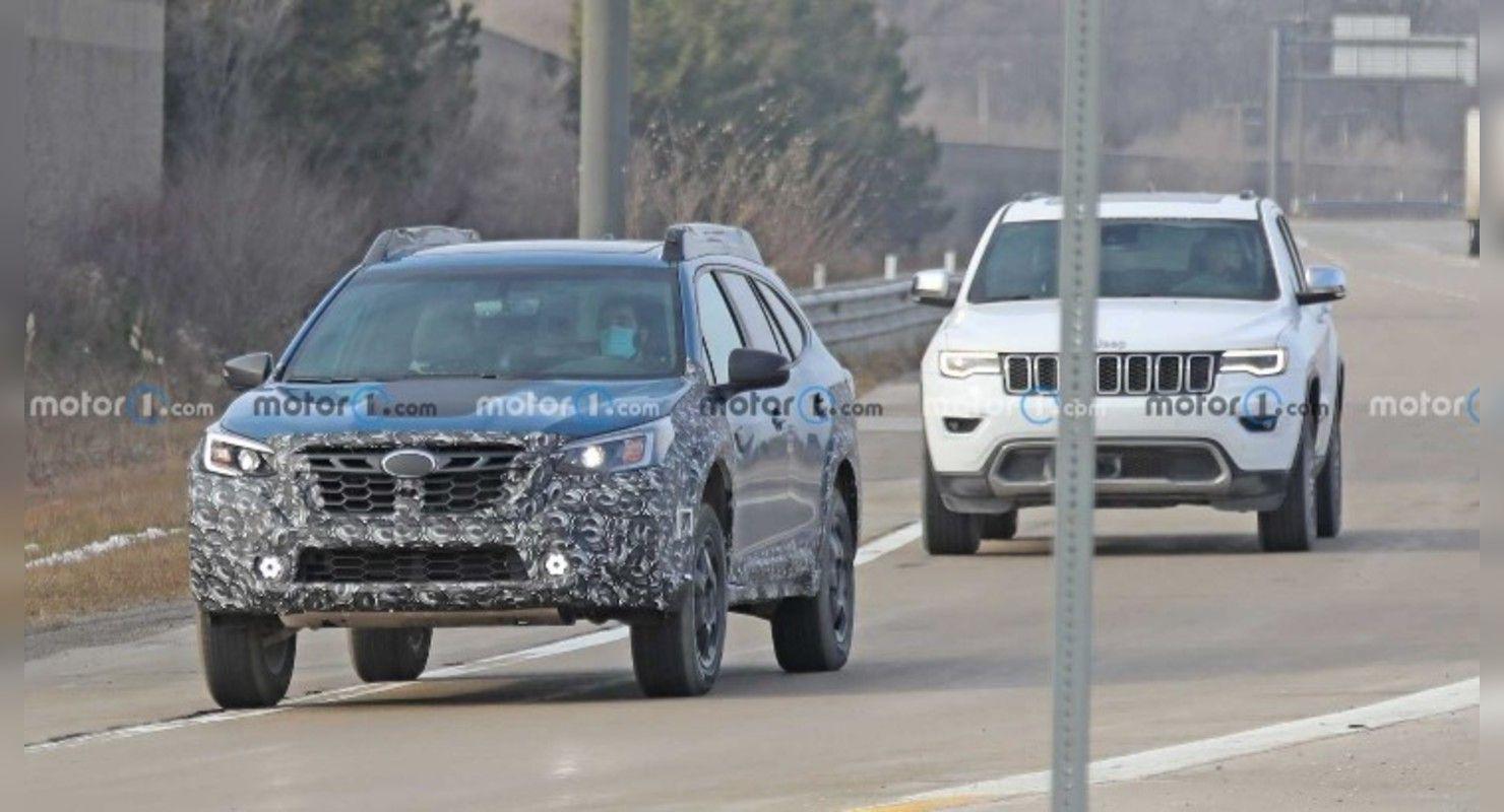 Subaru Outback Wilderness Edition впервые попала в объективы фотошпионов Автомобили