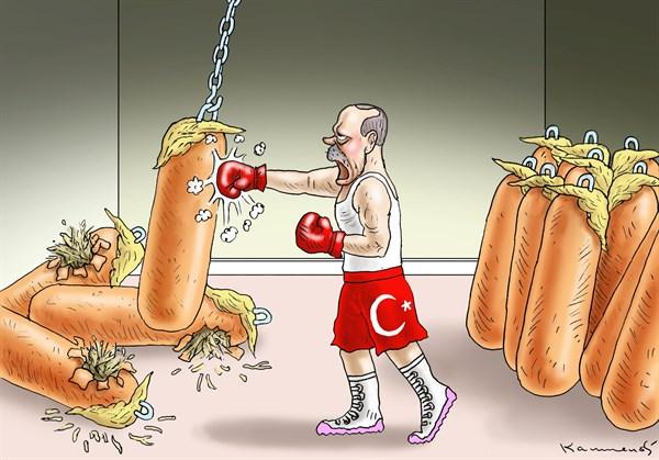 Спираль санкционной войны