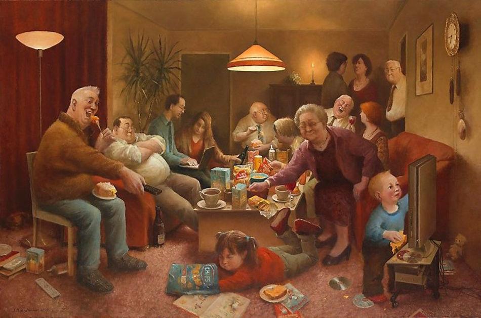Когда старость в радость: оптимистичные работы голландского художника Marius van Dokkum, фото № 15