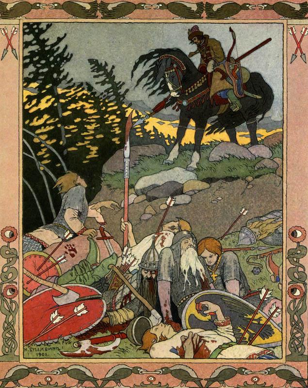 Загадочные мифы доисторической Руси