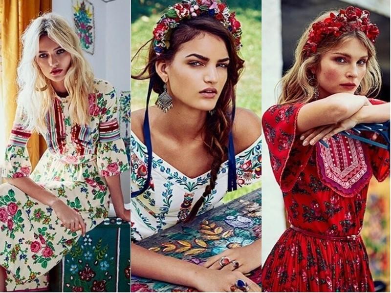 Модная одежда от Lena Hoschek весна-лето 2018