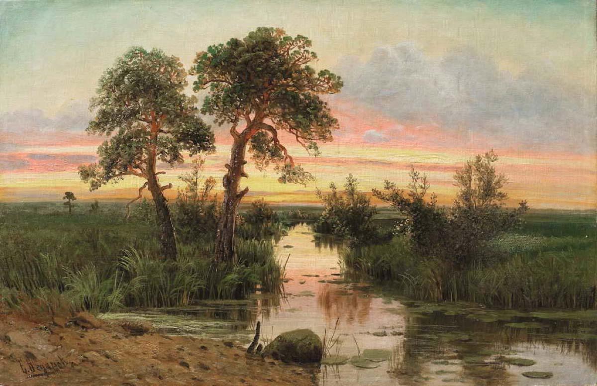 Родной природы сокровенные моменты... Русский художник Семён Фёдорович Фёдоров