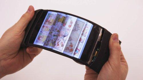 ReFlex - прототип гибкого смартфона