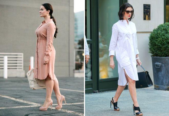 платья рубашки для женщин после 40 лет