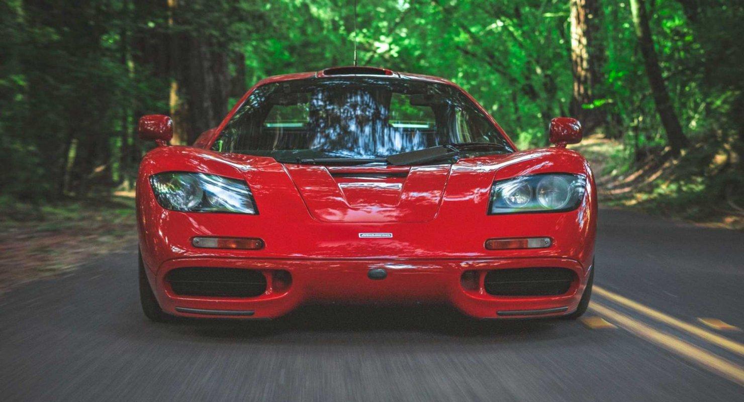Редкий McLaren F1 выставили на продажу в США Автомобили