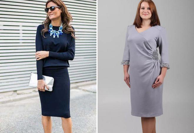 цвета платьев для женщин 40 лет