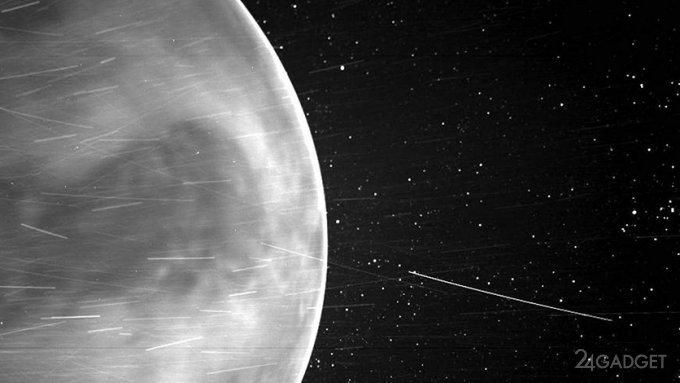 Солнечный зонд Parker предоставил потрясающий вид Венеры