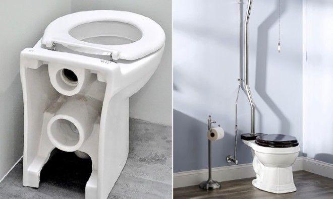 Уникальная американская система туалетов Фото videoboomcc