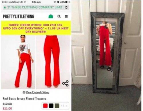 Ожидания vs. реальность: разочаровательные онлайн-покупки  приколы,смешные картинки,юмор
