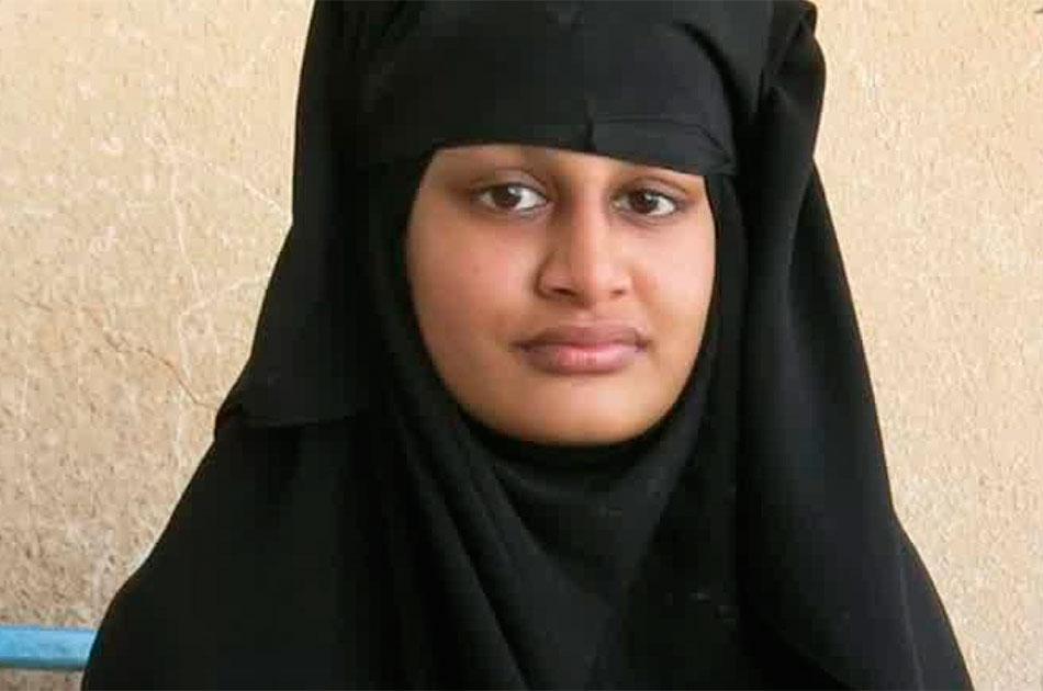 От англичанки Шамимы Бегун отказалась родина