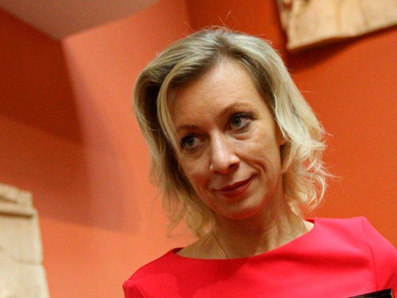 Марию Захарову обвинили в на…