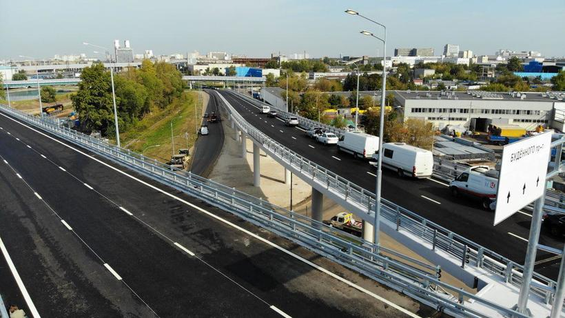 В Москве завершили интеграцию скоростной трассы М‑11 в дорожную сеть города