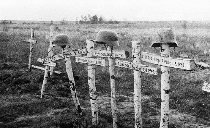 Где в России находится крупнейшее кладбище немецких солдат