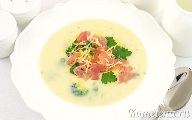 Суп-пюре из запеченного картофеля — 7 шаг