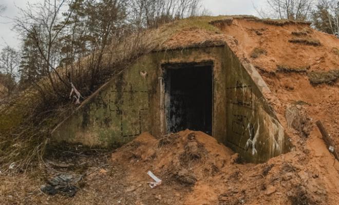 Спуск по узкой шахте привел в командный бункер: фото изнутри