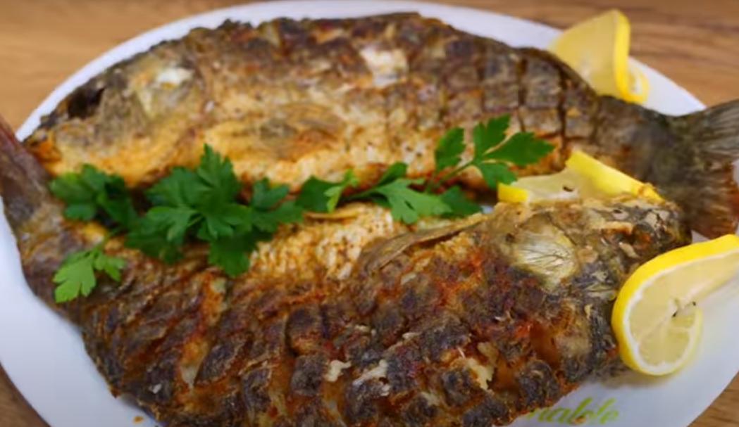 Вкуснейшая жареная рыбка