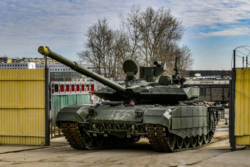 Танк Т-90М показал новые боевые возможности Техно