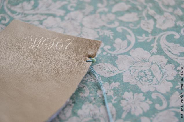 Вышивка бисером -- МК как красиво обработать край изделия