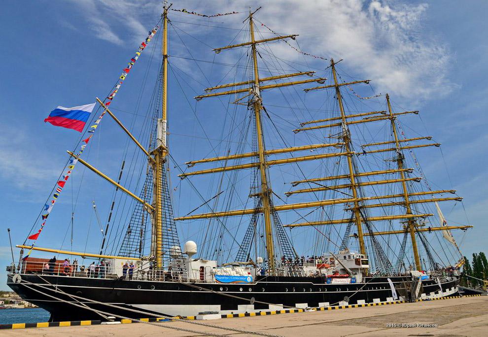 Российское парусное судно Крузенштерн отправится в Антарктиду в 2019 году путешествия