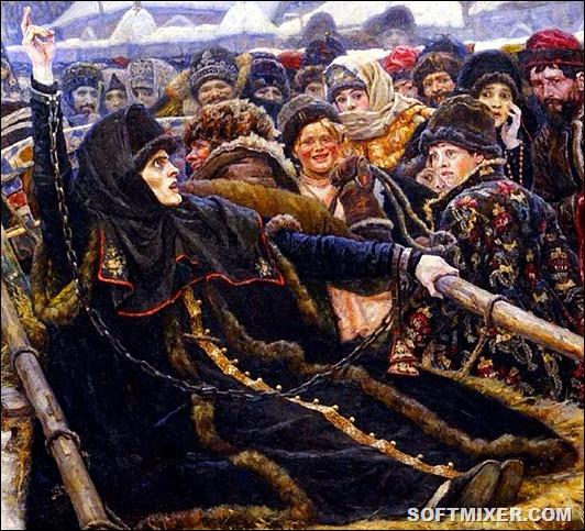 Боярыня Феодосия Морозова - сквозь адовы муки