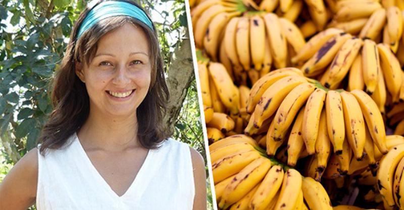 Женщина в течение 12 дней ела одни только бананы. Результат эксперимента