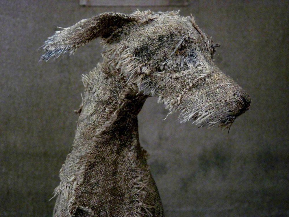 Собаки из ветоши от Helen Thompson вдохновляемся,поделки